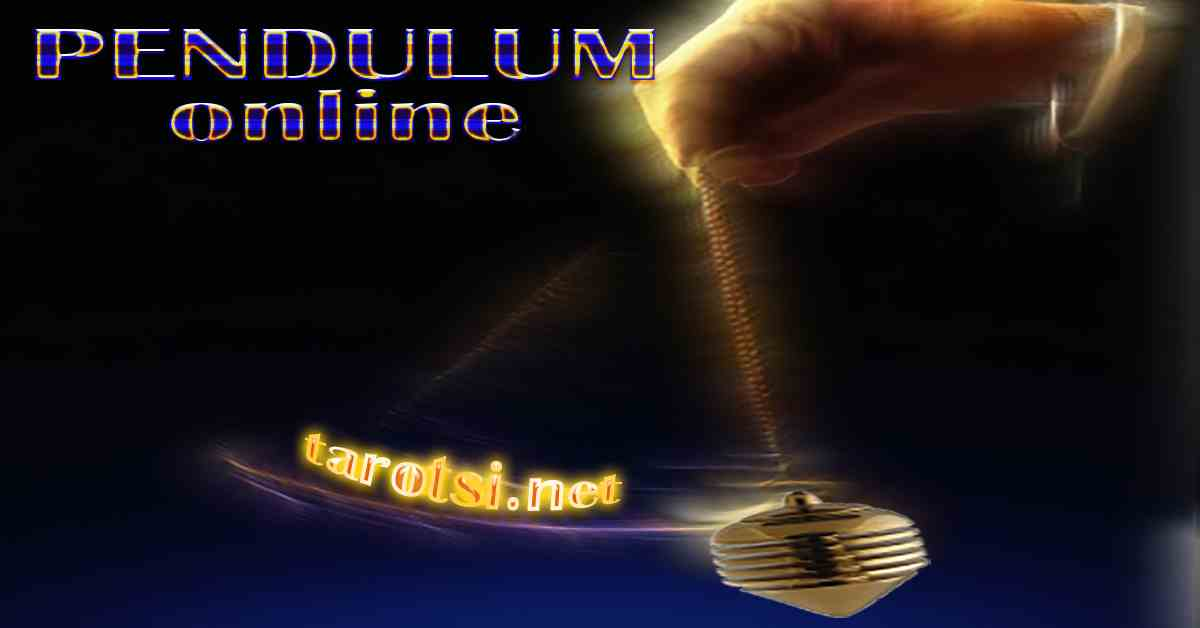 THE PENDULUM ONLINE answers you virtually